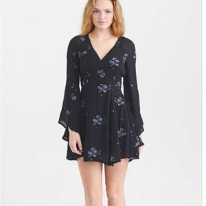 Free People~Women's Jasmine Embroidered Mini Dress